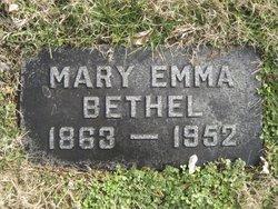 Mary Emma <i>Bellman</i> Bethel