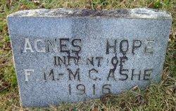 Agnes Hope Ashe