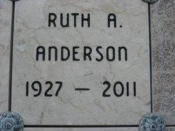 Ruth Juanita <i>Woolbright</i> Anderson