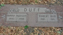 Mary <i>Hudson</i> Duff