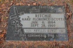 Mary Florence <i>Scott</i> Ritchie