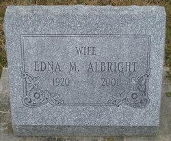 Edna M. <i>Weyandt</i> Albright