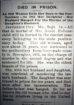 Annie Hollenschild