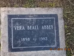 Vera <i>Beall</i> Abbey