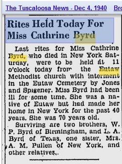 Catherine Byrd