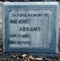 Mae Agnes Abrams