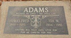 Thomas Fred Adams