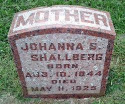 Johanna Sophie Hannah <i>Falk</i> Shallberg