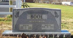 Howard Bernard Nod Booe, Sr