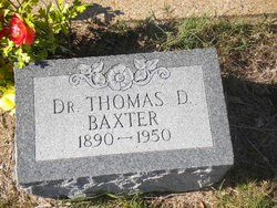 Dr Thomas D Baxter