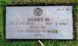 Audre M. Marx