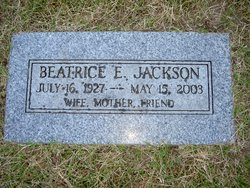 Beatrice E Jackson