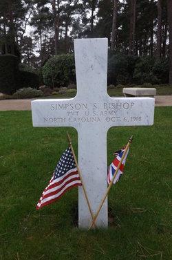 Pvt Simpson Seagle Bishop