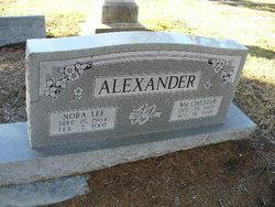 Nora Lee <i>Newman</i> Alexander
