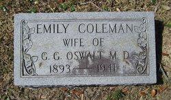 Emily <i>Coleman</i> Oswalt