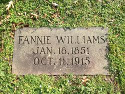 Fannie Williams Alexander