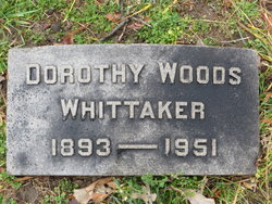 Dorothy <i>Woods</i> Whittaker