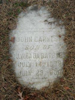 John Ernest Barbee