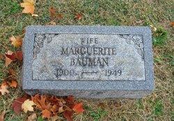 Marguerite <i>Dillinger</i> Bauman