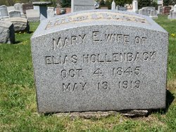 Mary Ann <i>Wells</i> Hollenbach