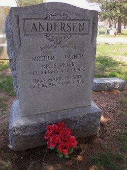 Inga Marie <i>Christensen</i> Andersen