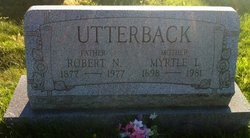 Myrtle Ivy <i>Miller</i> Utterback