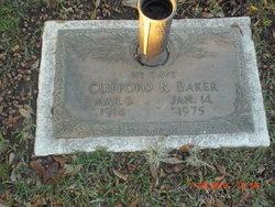 Clifford R Baker