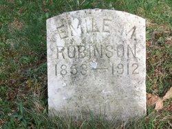 Emile M <i>Batterson</i> Robinson