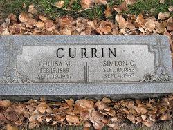Louisa Mary <i>Jacobs</i> Currin