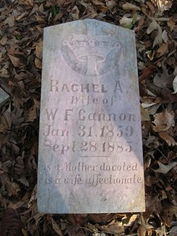 Rachel A. <i>McPherson</i> Cannon