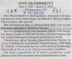Ann <i>Pagano</i> McDermott