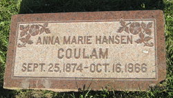 Anna Marie <i>Hansen</i> Coulam