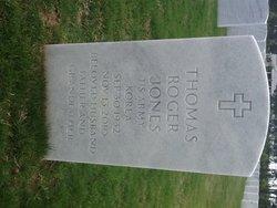 Thomas Roger Tom Jones