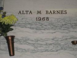 Alta M Barnes