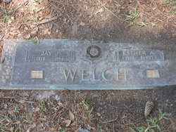 Esther Blanche <i>Apperson</i> Welch