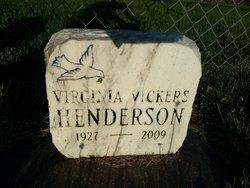 Virginia Vickers Henderson