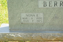 Nona Ethel <i>Boatright</i> Berry