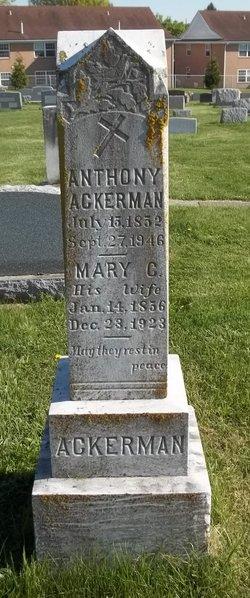 Mary C <i>Eckenrode</i> Ackerman