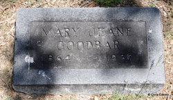 Mary Jeane <i>McNeeley</i> Goodbar