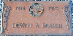 DeWitt A. Branch