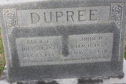 Lula Frances <i>Barber</i> Dupree