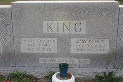 Haywood Alton King