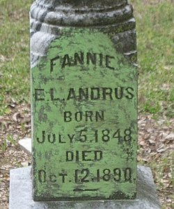Fannie E. L. <i>Buntin</i> Andrus