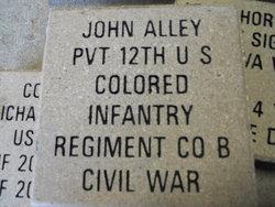 Pvt John Alley
