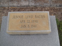 Jennie <i>Lind</i> Bacon