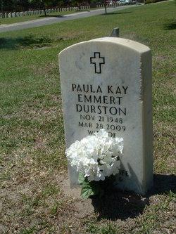 Paula Kay <i>Emmert</i> Durston