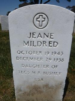 Jeane Mildred Bushey