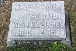 Mary Emily Lipscomb