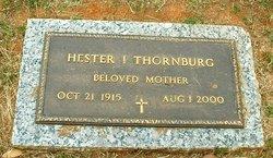 Hester Inez <i>Crawford</i> Thornburg