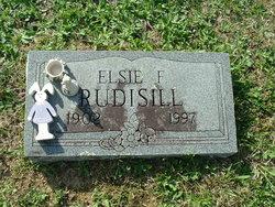 Elsie Faye <i>Mann</i> Rudisill